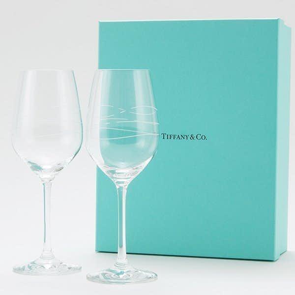1万円のプレゼントはティファニーのペアグラス