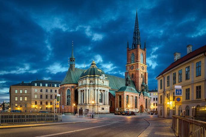 スウェーデンでおすすめの観光地はリッダーホルム教会