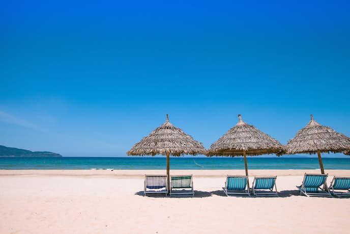ダナンでおすすめの観光地はミーケビーチ