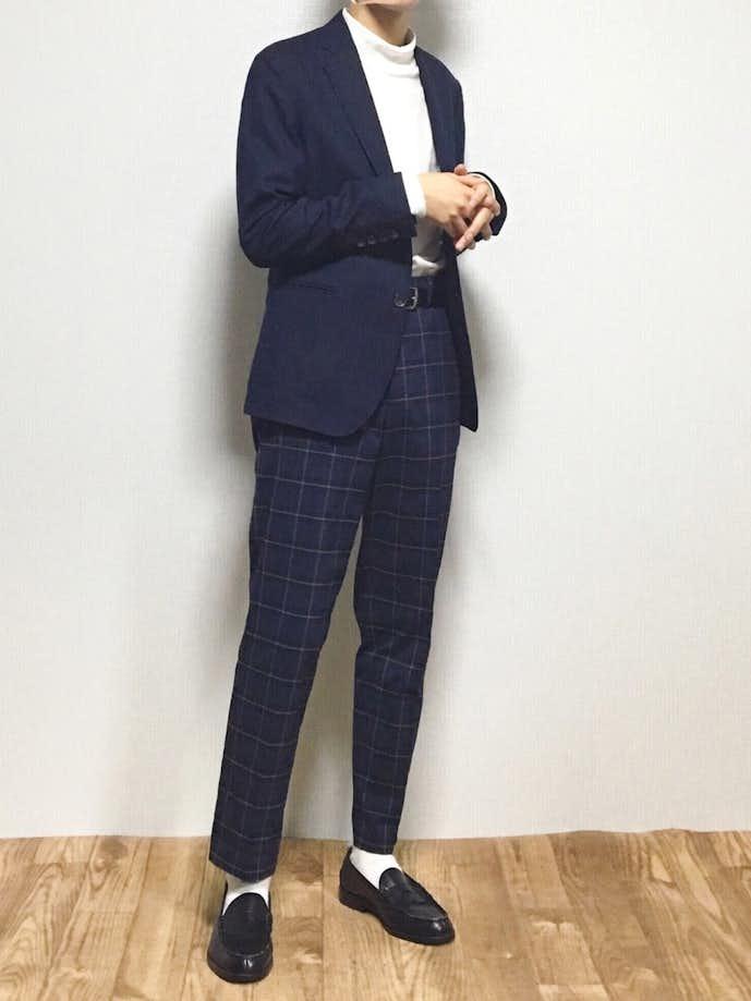 カジュアルな男性のお見合いの服装1