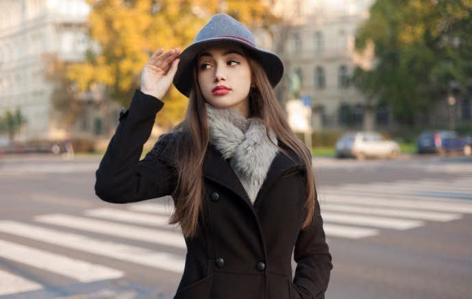冬の女性のお見合いの服装