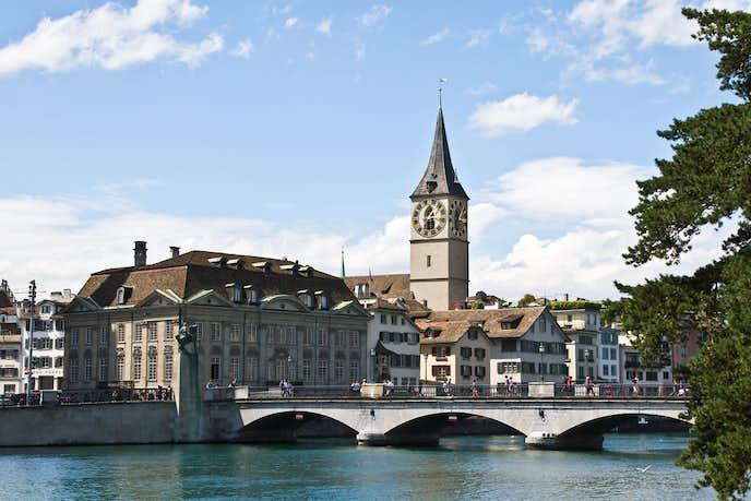 スイスでおすすめの観光地は聖ペーター教会