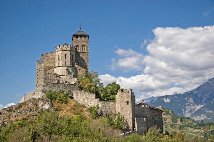 スイスでおすすめの観光地はヴァレール城