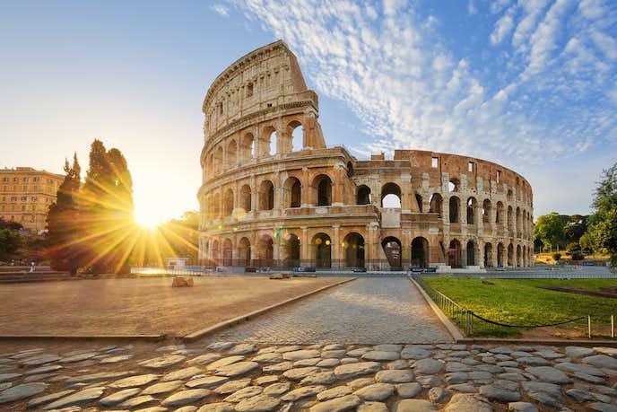 イタリアでおすすめの観光地はローマ