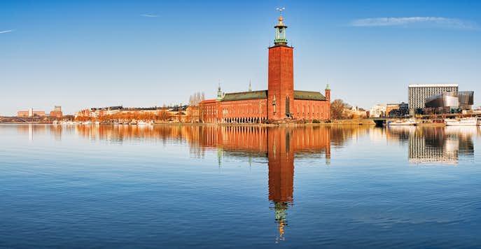 スウェーデンでおすすめの観光地は市庁舎