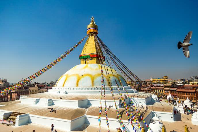 ネパールでおすすめの観光地はボダナート・ストゥーパ