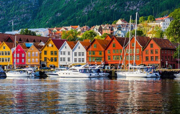 ノルウェーでおすすめの観光地はブリッゲン