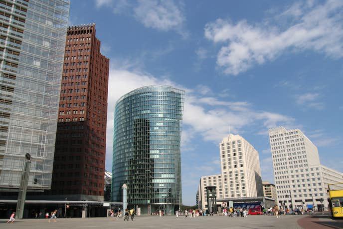 ベルリンでおすすめの観光地はポツダム広場