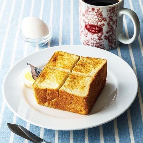ブリオッシュ ドーレのおすすめメニューはトーストセット