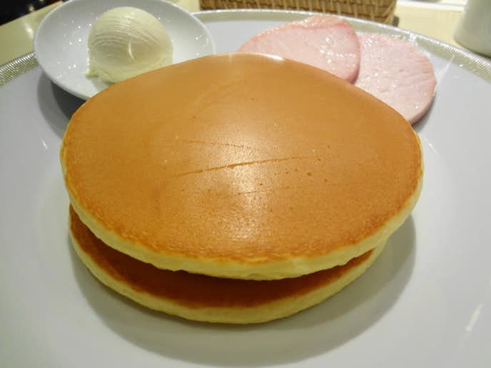 パークサイドダイナーのおすすめメニューはパンケーキブレックファスト