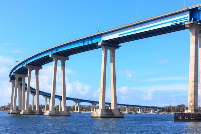 サンディエゴでおすすめの観光地はコロナドブリッジ
