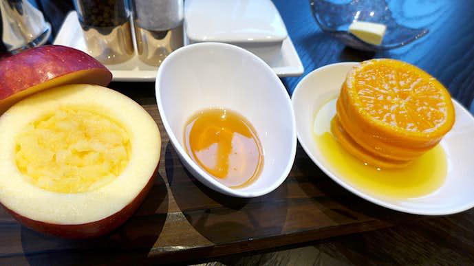 モティーフ レストラン アンド バーのおすすめメニューは厚切りオレンジのマーマレード
