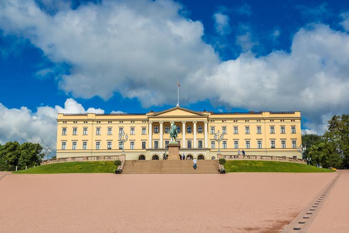 ノルウェーでおすすめの観光地はノルウェー王宮