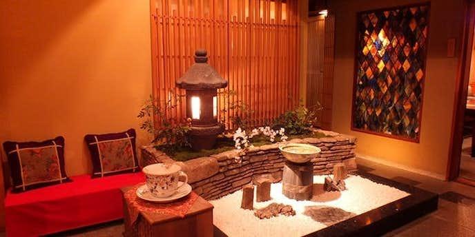 銀座でおすすめのデートディナーは徒然茶寮