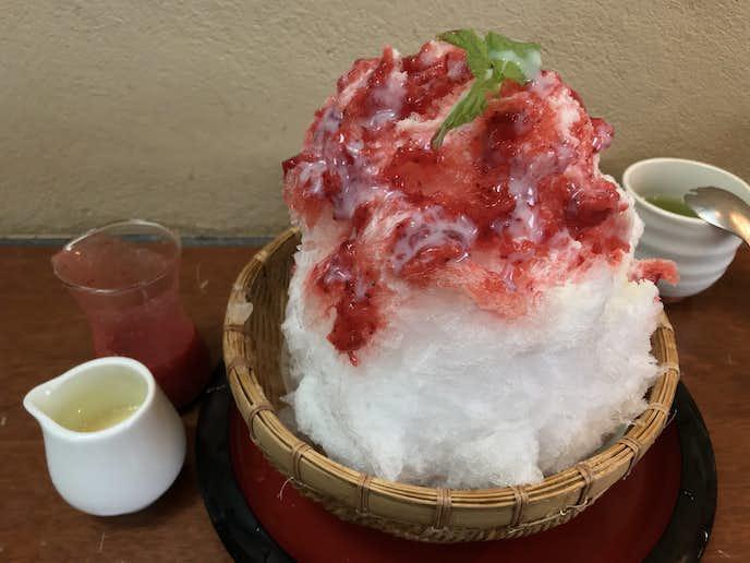 東京都内のふわふわで美味しいかき氷