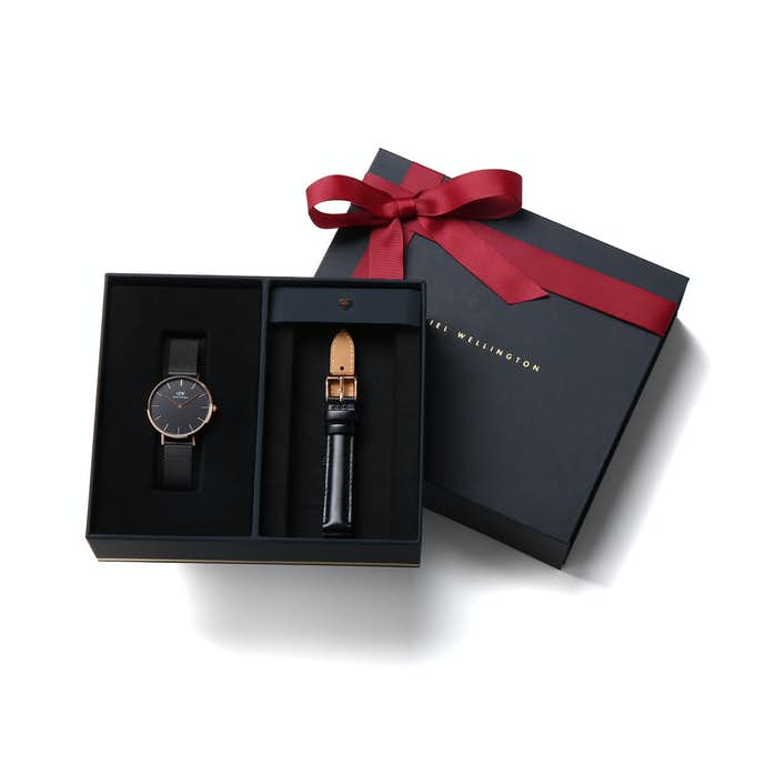 彼氏へのクリスマスプレゼントにダニエルウェリントンの腕時計