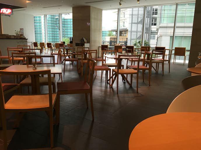 横浜駅でおすすめのモーニングはカフェ ド ティーケーピー