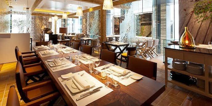 銀座でおすすめのデートディナーはフルトシ【ソラリア西鉄ホテル銀座】