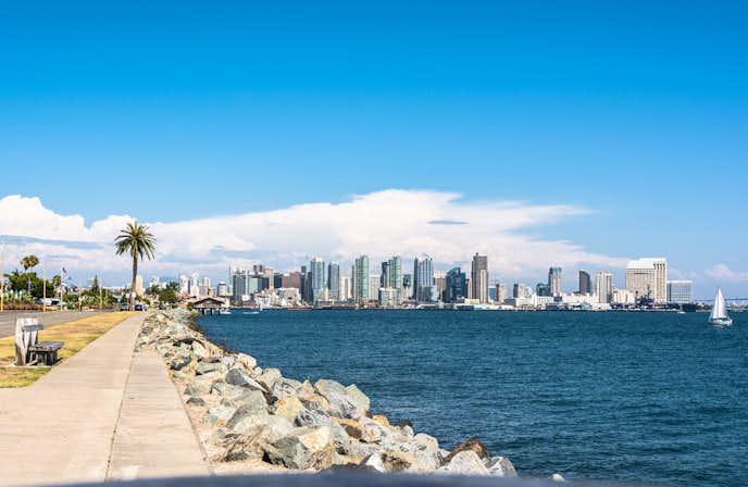 サンディエゴでおすすめの観光地はサンディエゴ湾