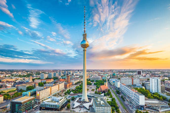 ベルリンでおすすめの観光地はテレビ塔