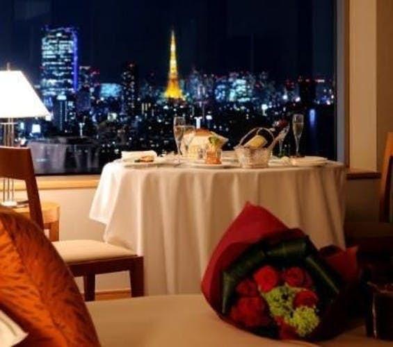セルリアンタワー東急ホテルのルームサービス