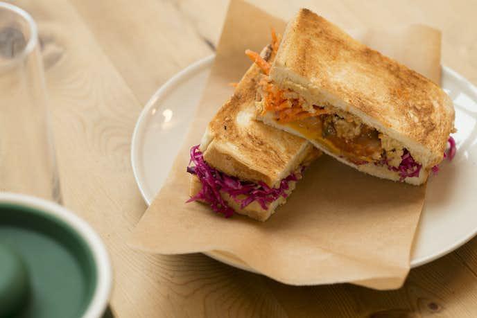 カフェ オムニバスのサンドイッチ