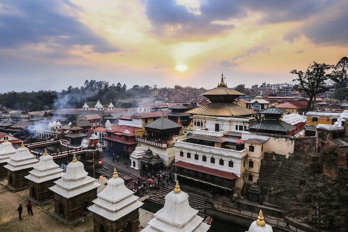 ネパールでおすすめの観光地はパシュパティナート