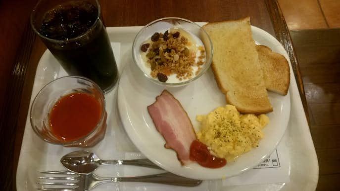 ベックスコーヒーショップのおすすめメニューは朝のバランスプレート