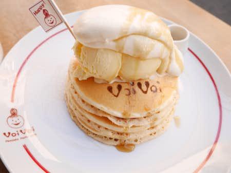 三軒茶屋ヴォヴォイのパンケーキ