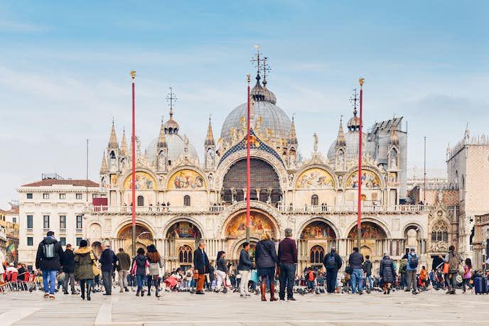 ベネチアでおすすめの観光地はサン・マルコ寺院
