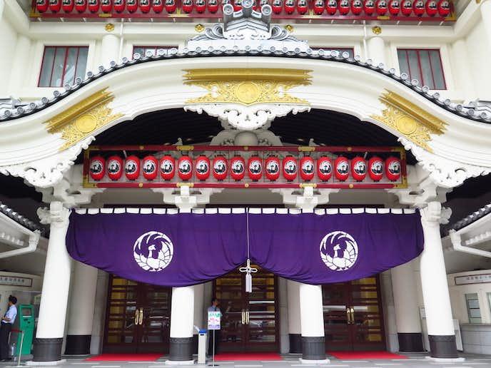 銀座でおすすめの観光地は歌舞伎座