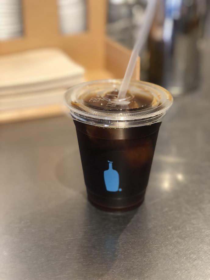 新宿南口のブルーボトルコーヒー