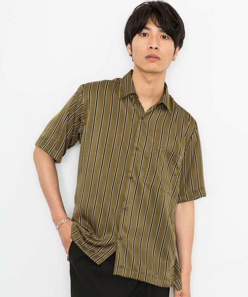 夏コーデに使えるおすすめのカーキシャツ