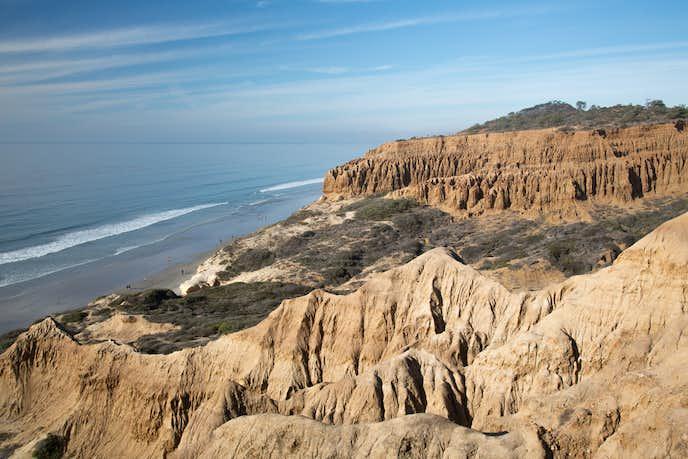サンディエゴでおすすめの観光地はトーリーパインズ州立保護区