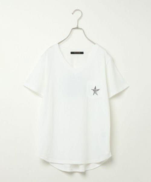 控えめなペアルックならポケットTシャツがおすすめ