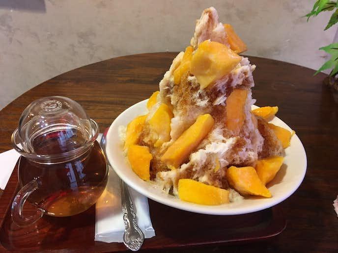 三徳堂の2018最新の美味しいかき氷