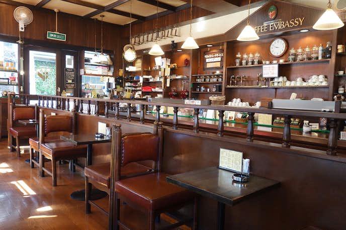 新橋でおすすめのモーニングは珈琲大使館 新橋店