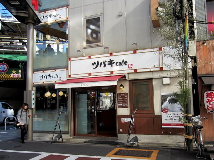 新橋でおすすめのモーニングはツバキcafe 新橋駅前店