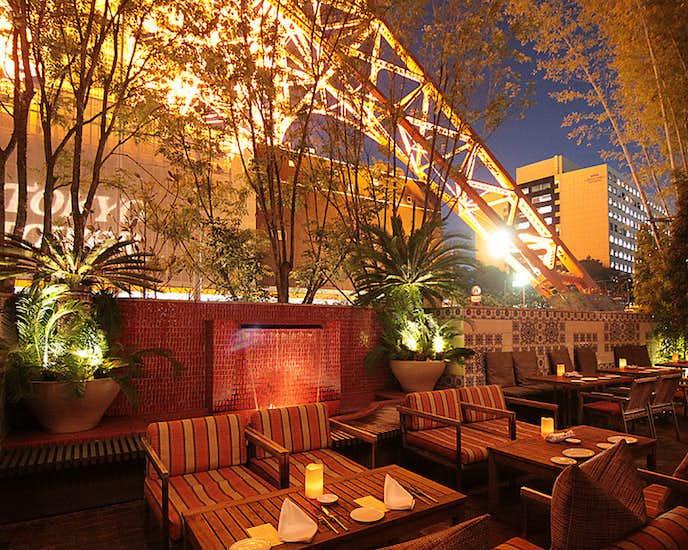 東京タワー周辺デートのおすすめスポットはTerrace Dining TANGO