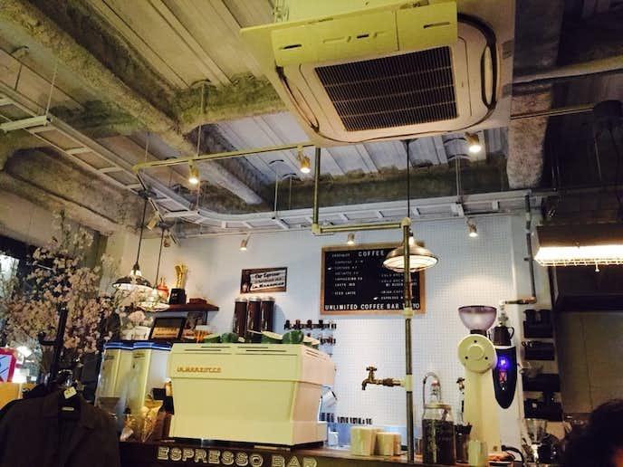 スカイツリーのおすすめデートスポットはアンリミテッド コーヒーバー