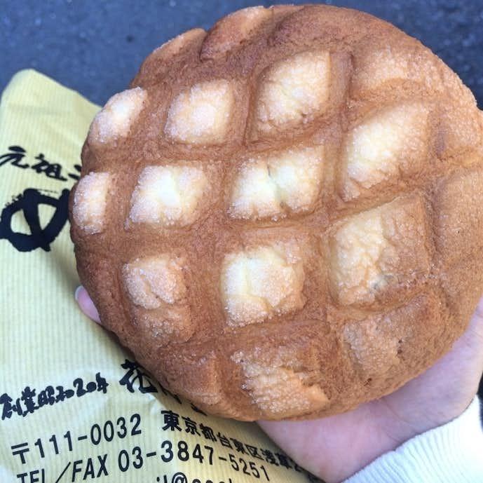 花月堂_メロンパン