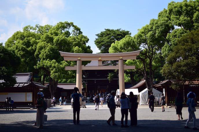 渋谷のおすすめデートスポットは明治神宮