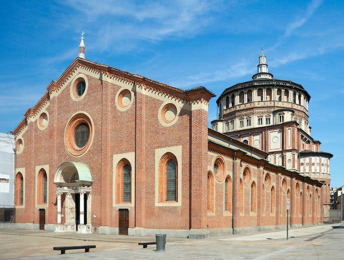 ミラノでおすすめの観光地はサンタ・マリア・デッレ・グラツィエ教会
