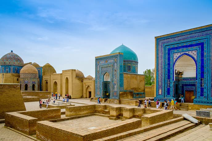 ウズベキスタンでおすすめの観光地はシャーヒ・ズィンダ廟