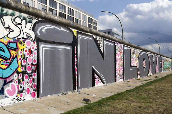 ベルリンでおすすめの観光地はイーストサイドギャラリー(ベルリンの壁)