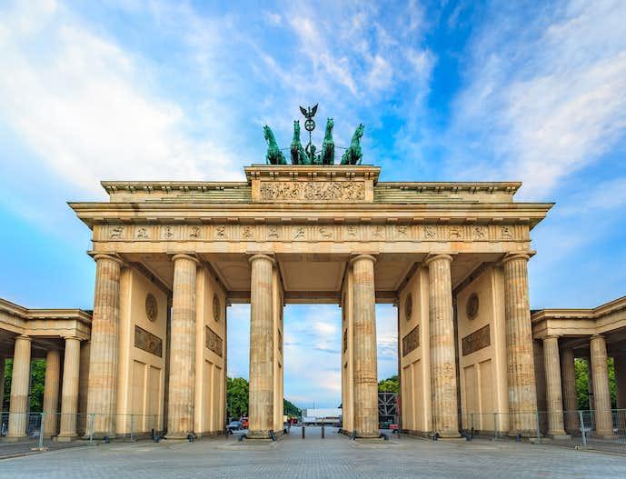 ベルリンでおすすめの観光地はブランデンブルク門