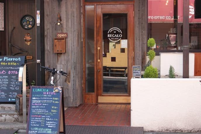 北千住のおすすめカフェ「REGALO」