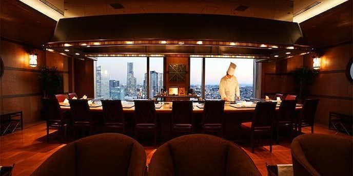 横浜でおすすめのデートディナーは鉄板焼 さがみ 【横浜ベイシェラトン ホテル&タワーズ】