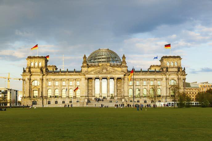 ベルリンでおすすめの観光地はドイツ連邦議事堂