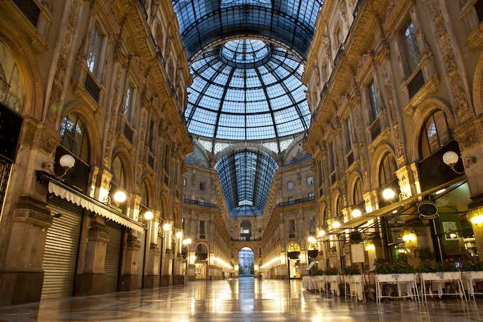 ミラノでおすすめの観光地はガッレリア